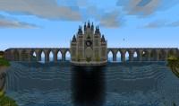 Waterfall Castle Minecraft Project