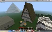 Minecraft House Frame