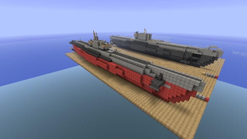 Balao Submarine Minecraft Project