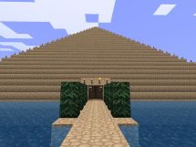 Minecraft Pyramid Interior