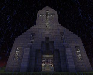 church simple crypt minecraft library schemagic map