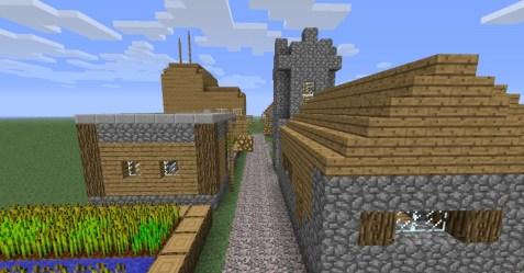 village buildings npc minecraft town example