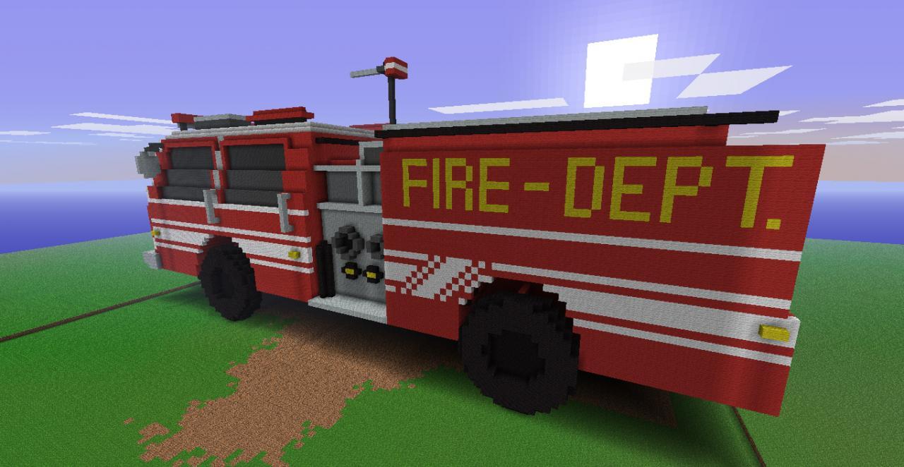 fire truck schematic