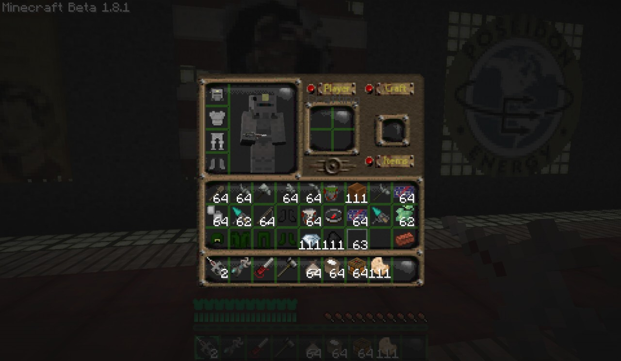 2 Texture Minecraft Fallout 4 Pack 1
