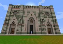 Minecraft Cathedral Blueprint