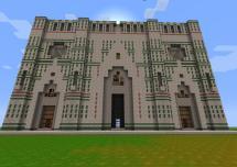 Minecraft Cathedral Blueprint