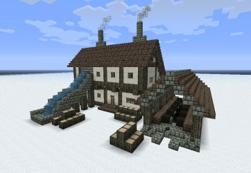 medieval building minecraft buildings pack tips schems dl builds blueprints designs german lumber plans mill planetminecraft project houses construction step