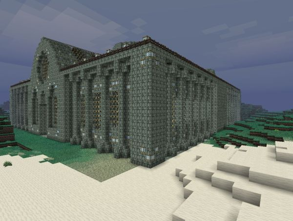 Massive Minecraft Police Station - Year of Clean Water