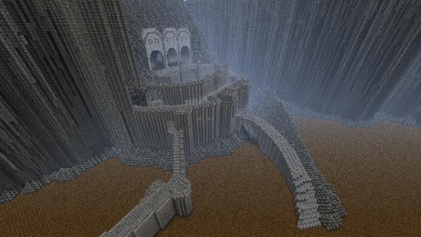 Hanens Helms Deep Minecraft Project