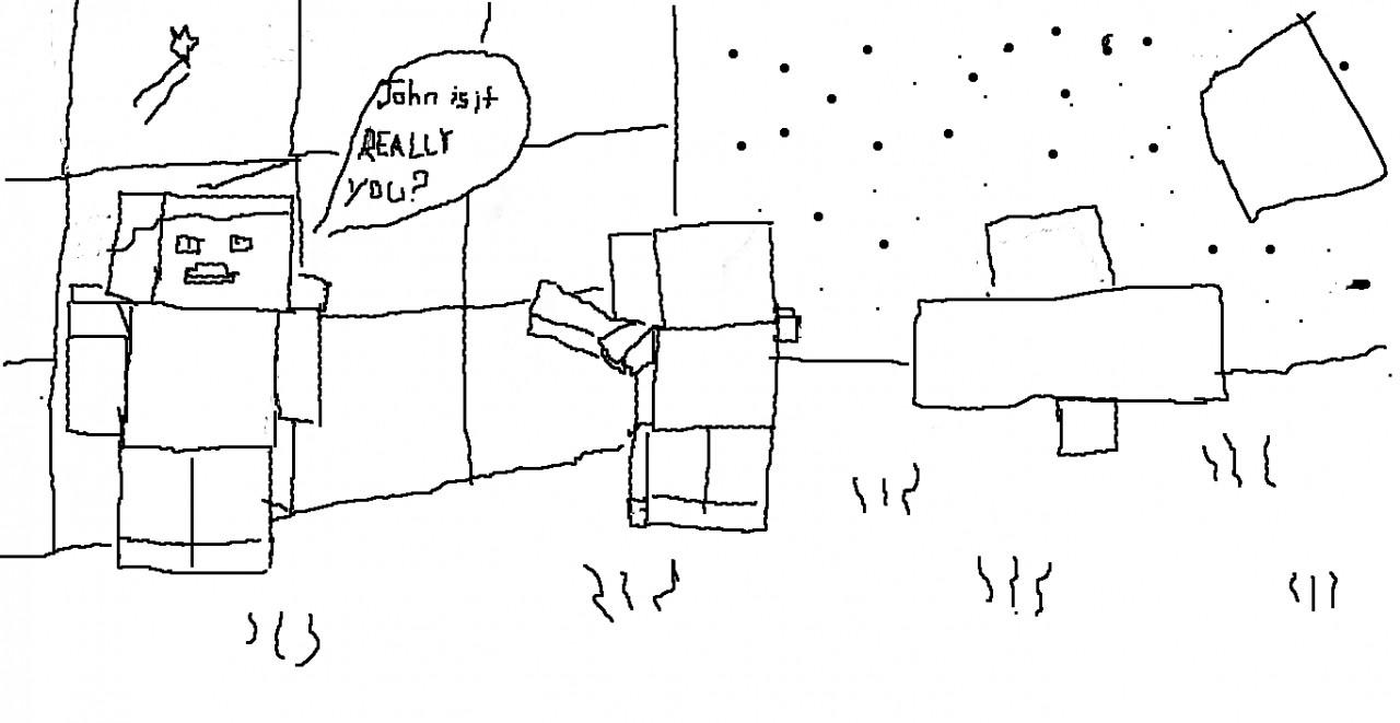 Minecraft Drawings!