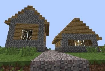 village houses npc minecraft project