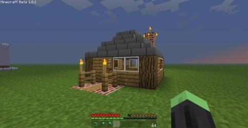 village minecraft front