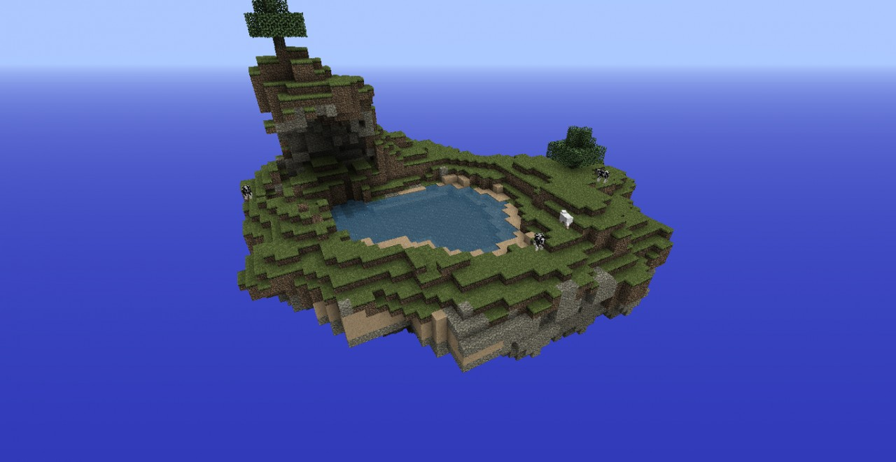 Survival Floating Island Minecraft Project