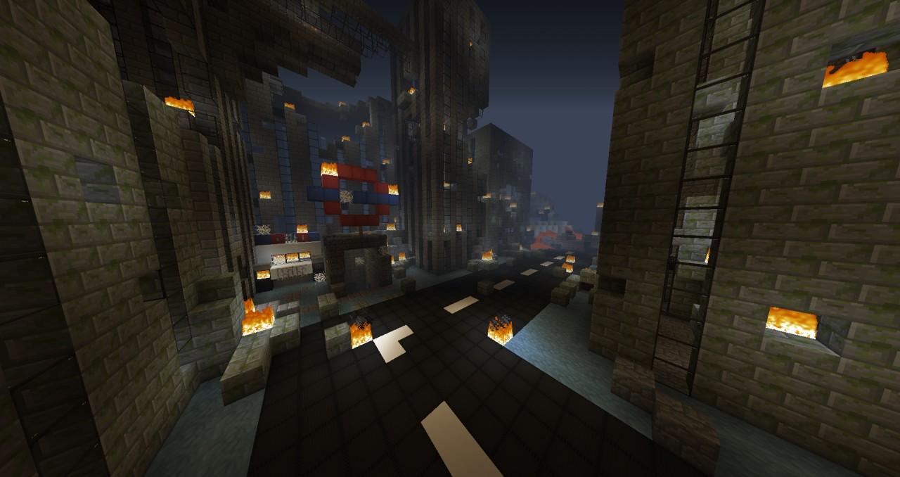 Apocalypse In City Minecraft Project