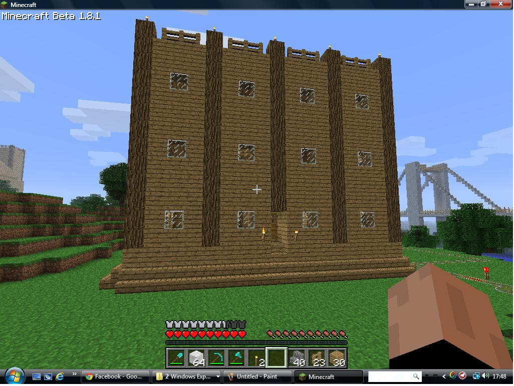 Wooden House Nice Minecraft Project