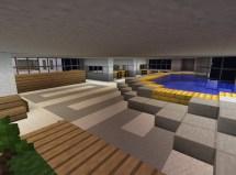 Minecraft Hotel Outside