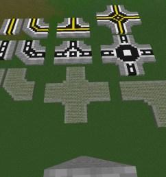 three different road designs its an mc schematic  [ 1280 x 661 Pixel ]