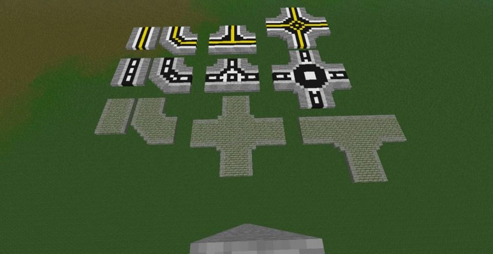 medium resolution of three different road designs its an mc schematic