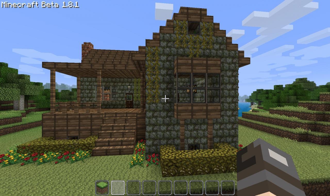 House Minecraft Rustic Schematic