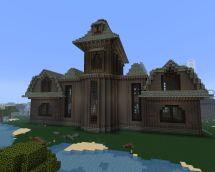 Halloween - Haunted Mansion Minecraft Project