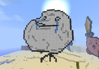 forever alone minecraft project