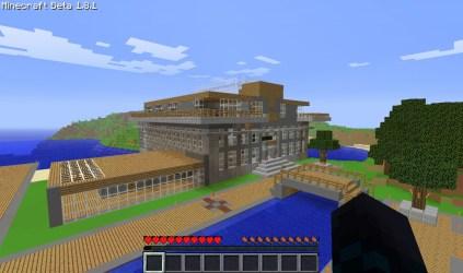 ocean minecraft hotel