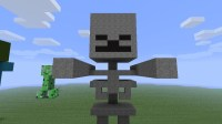 Skeleton Statue Minecraft Project