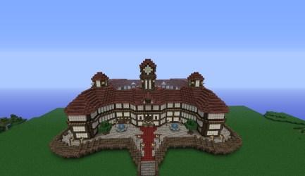 town hall medieval minecraft
