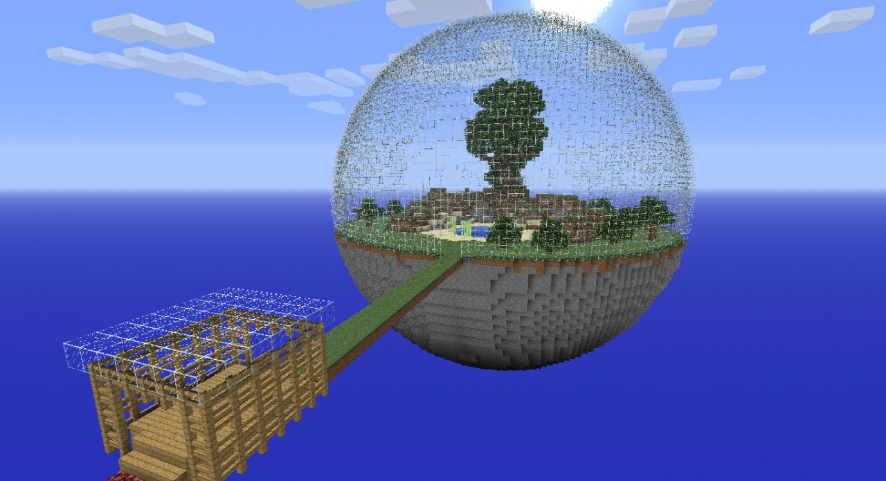 Two Planet Survival Minecraft Project