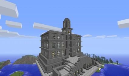 hall town minecraft