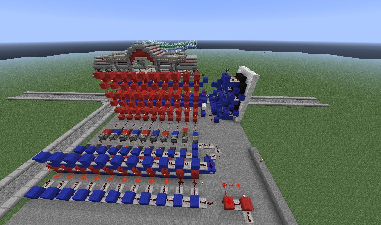 Minecraft 7 Segment Display Decoder