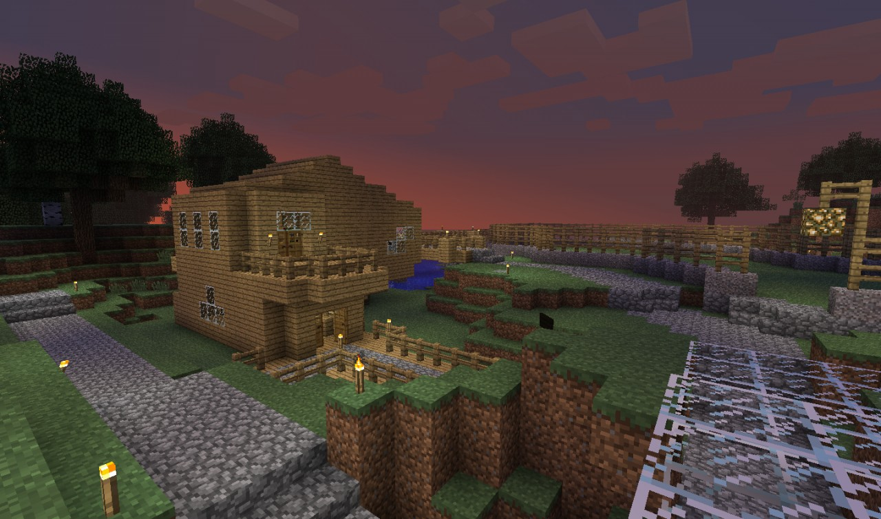 My First Survival World Minecraft Project