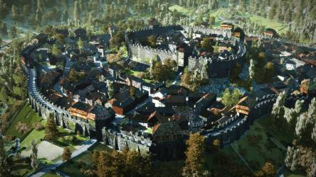 medieval town minecraft fantasy huge village farm planetminecraft cities google includes ii project map foggy 출처 abandoned