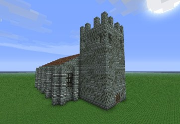 Medieval Small Church Minecraft Map