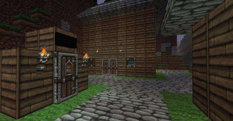 town layout medieval minecraft epic