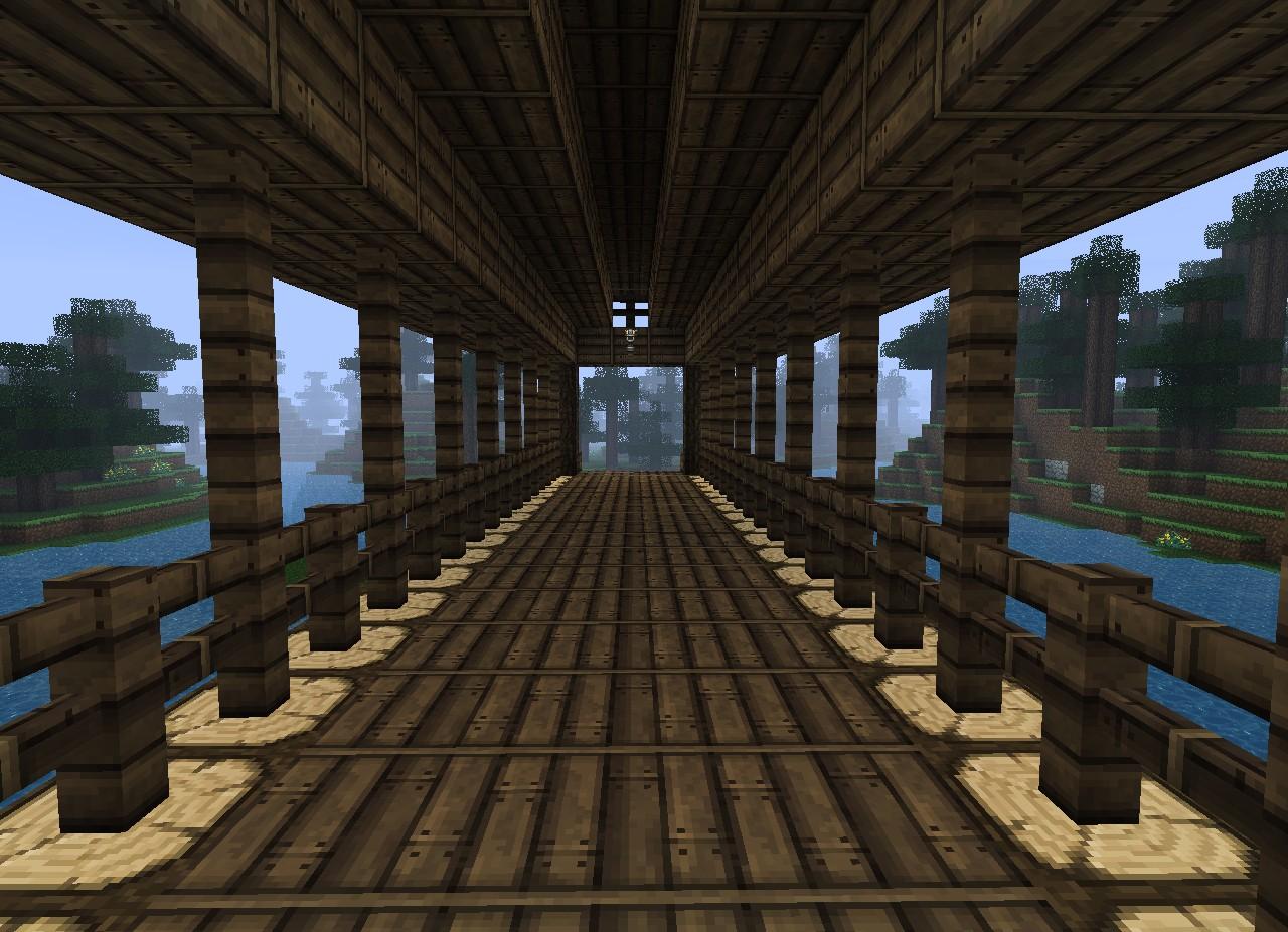 Covered Bridge Minecraft Project
