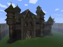 Feast Castle - fantasy castle Minecraft Project
