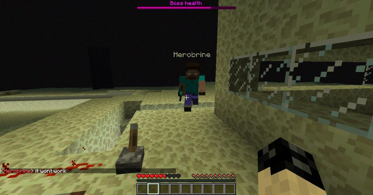 HeroBrine Was Never Removed Minecraft Blog