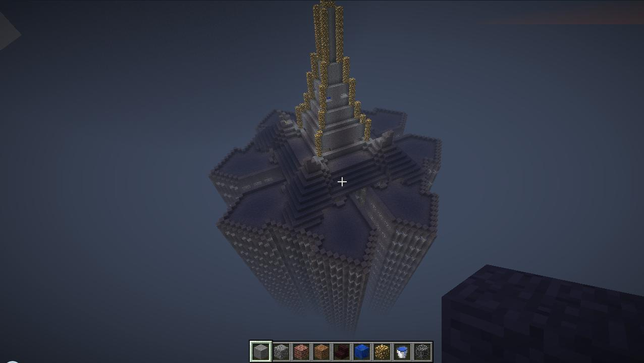 Coruscant Galactic City Minecraft Project