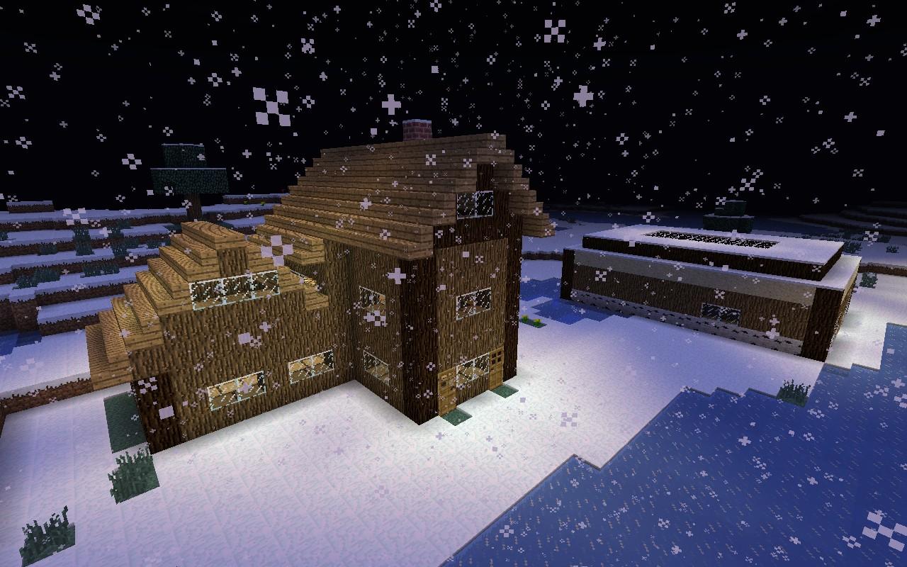 Winter Village Must View Minecraft Project