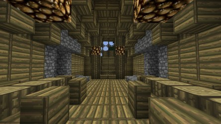 medieval hall grand town minecraft