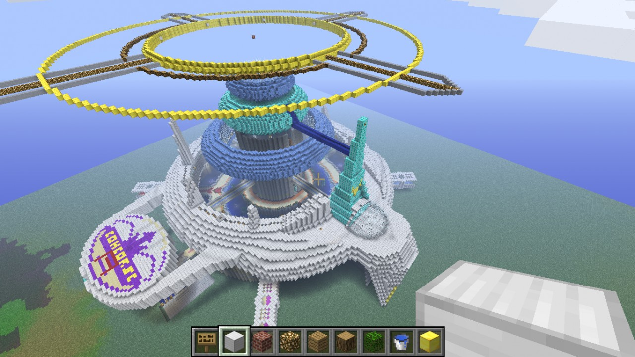 Balamb Garden University Ff8 By Sorow Minecraft Project
