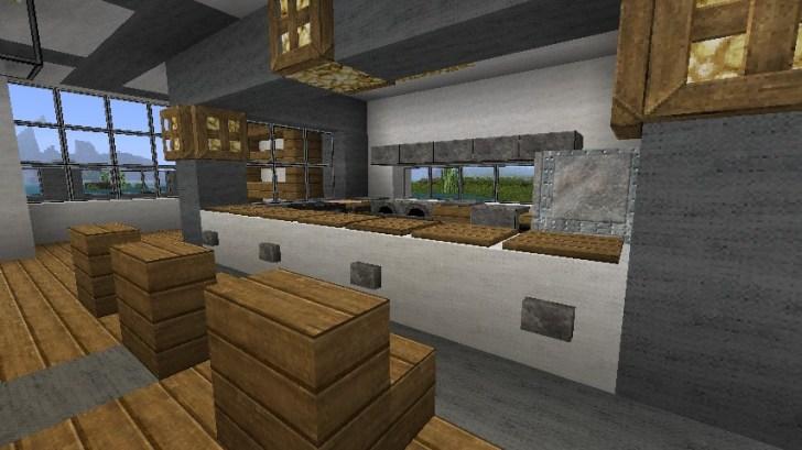 Minecraft Modern Kitchen Ideas