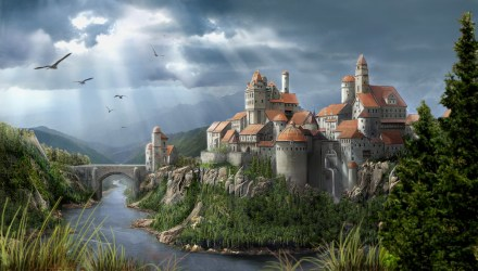 castle medieval minecraft diamonds kingdom castles fantasy gothic painting drawing project european famous