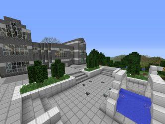 modern hall minecraft project