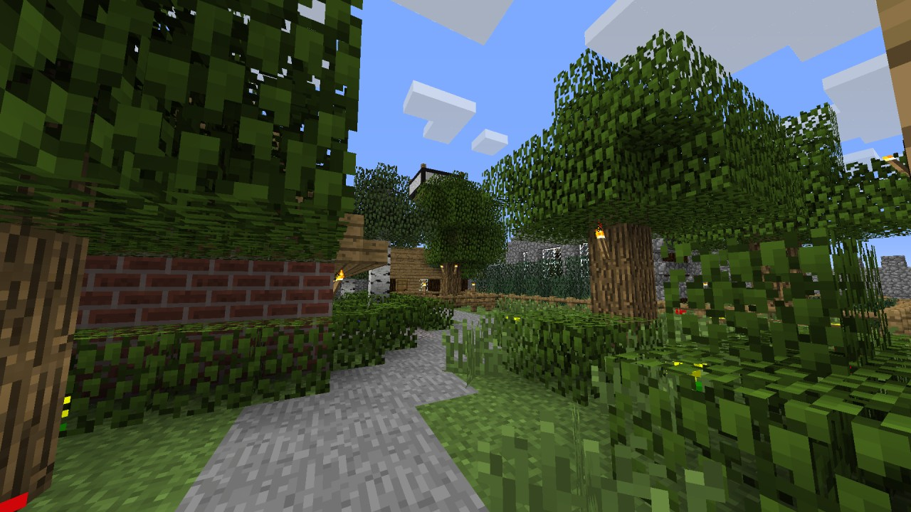 Better Villages - with walls! Minecraft Map