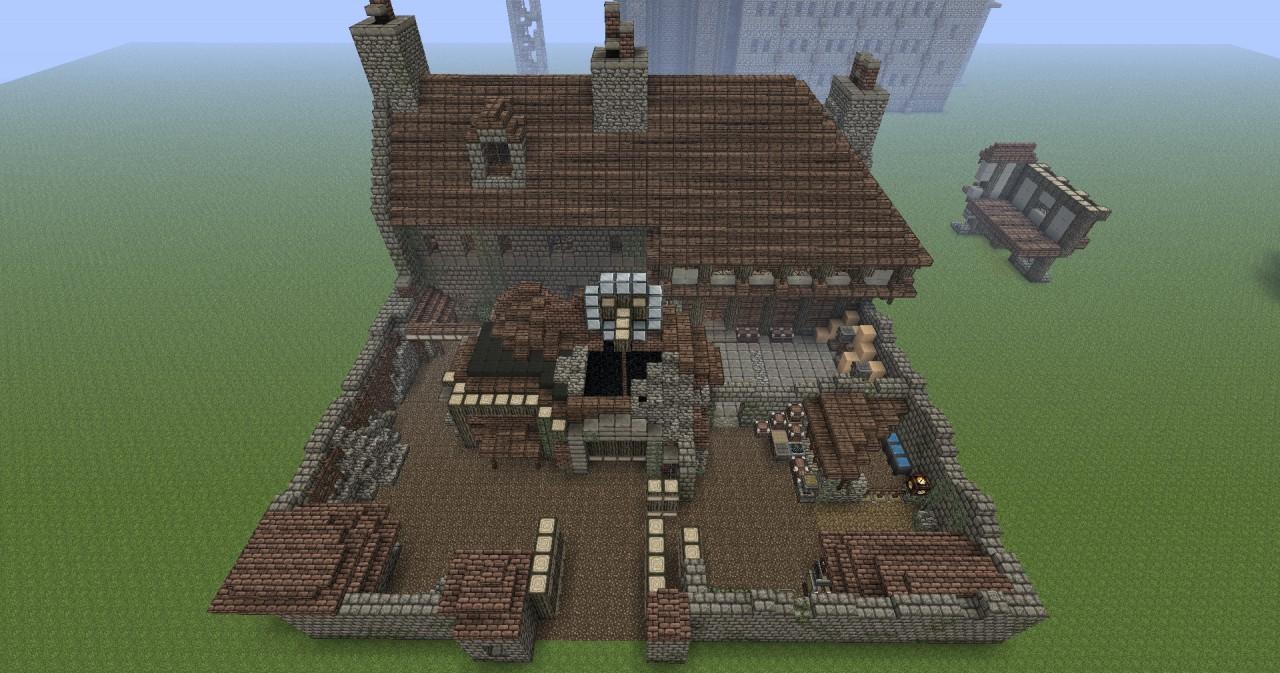 Discworld  Treacle Mine Watch House  AnkhMorpork Minecraft Project