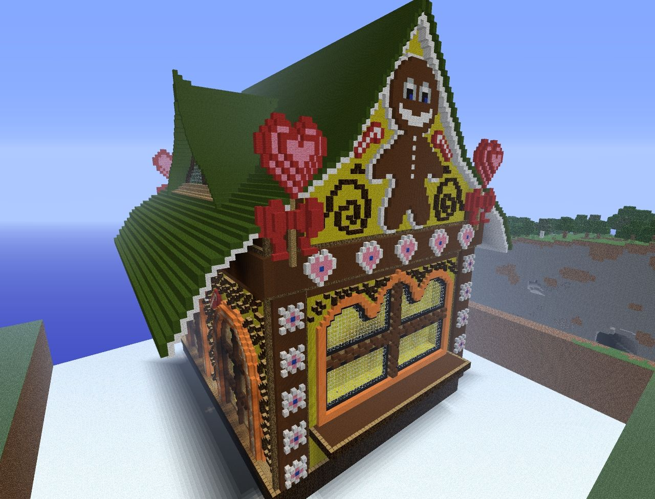 Minecraft Gingerbread Man