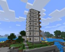 Skyscraper Hotel Minecraft Project