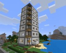 Minecraft Modern Skyscraper